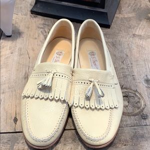 Gucci  leather loafers size 44.5